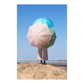 umbrella artofvisuals productphotography nordic scandinaviandesign elinarebers finland pictureoftheday beach outdoor design