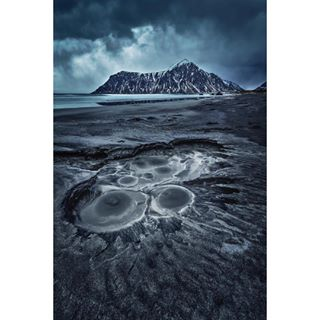 sky skagsandenbeach picturesquemountain ocean norway nikon nature mountain lofoten landscape geysir