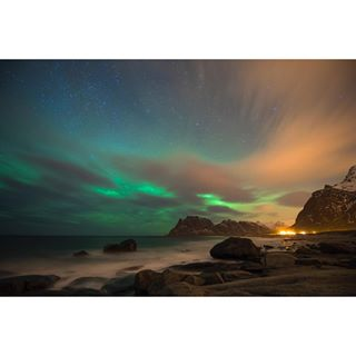 landscape auroraborealis lights northernlights lofoten dancinglights nature norway 1 nightphotography