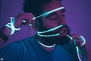 blue bravoportrait color colors curly cyberpunk face film fuckinmag grain hair hands light lowlight lowlights man n8zine night nightphotography overthinking portrait somewheremagazine sony sonya7iii sonyalpha thinking thoughts vaporwave violet wire