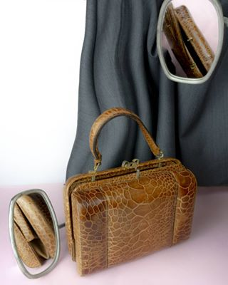 photoarianna stilllife crocodile bag