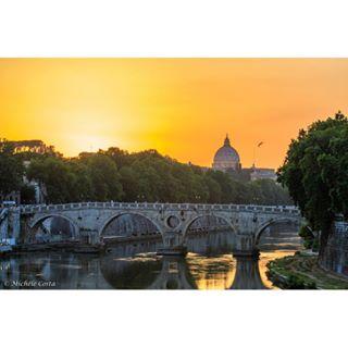 canoneos7dmarkii sunset trastevere sanpietro canon_photos vaticano canonprofessional roma architecture