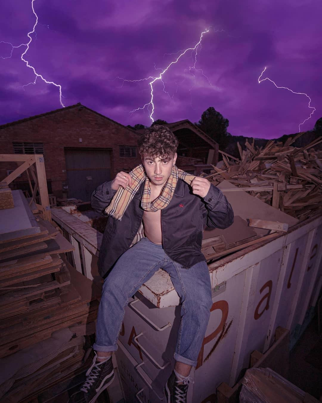 grunge canon 14mm mood vintage polo streetwear purple burberry edit lightning storm