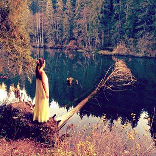 clothes experiencebucharest fashion international lake modeling mystery nature photography photooftheday wood yellow
