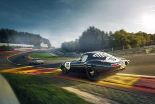 radillion passion design finearbeit speed jaguaretype motorrad jaguar spasixhours endurance curves sportscar spaclassic
