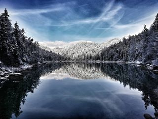 amazing awesome bestweather canon cold escape forest fun happy ice instagood lake landscape_photography lifeisgood love magic mountains nature outdoors panorama picoftheday snow snowboard snowphotography travel winter wintermagic