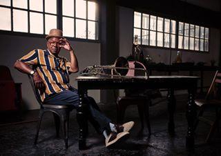 jazzphotographer industrial jazzphotography josephbowie fujifilm editorial trombone bowie jazz profoto mediumformat portraits gfx funk music jazzlegend