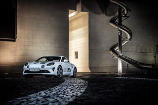 a110 alpine alpinea110 alpinecars lightpainting photoshoot