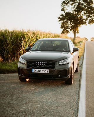 audi audi_q2 audisport carphotography carporn carsofinstagram photography sunrise suv