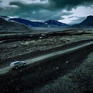 landcruiser highwaytohell mavicair iceland langjökulsvegur island