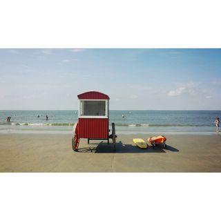 noicemag palepalmcollection borkum happy likeforlike throwback bluesky red beachlife beach Summer