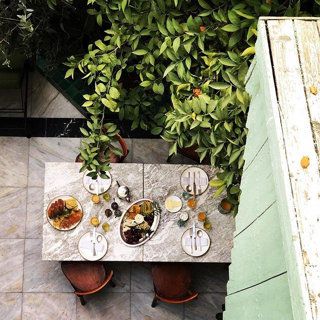 breakfast food morning marble marakech foodphotography travelphotography travel marokko