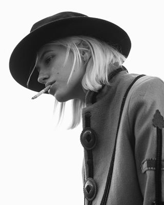 hat fashion outdoor cowgirl portraitmood bw ootd leatherjacket 5 love fashionphotography photography editorial sunshine blonde beauty editorials