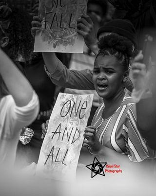 important standingtogether belfastcity protest blacklivesmatter
