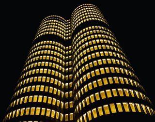 vierzylinder fourcylinder longexposures bulb night munich bmw longexposhots lumix architecture longexposure