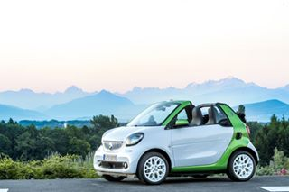 carphotography tailormade alpes montblanc landscape smart coffee cabrio sunrise electricdrive bluehour fortwo