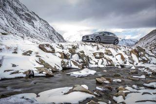mercedesbenz snow carsofinstagram daimler alps mercedes mbsnowride carphotography aclass austria 4matic champ snowy mountains icy