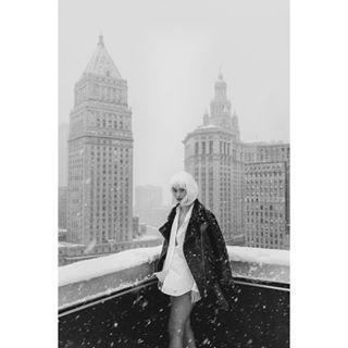 female beauty photographer blackandwhite rooftop travel manhattan tinemarialipski newyorknewyork street photography