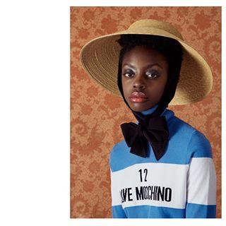 vein portrait femalemodel veinmagazine gucci veindigital model hat lovemoschino
