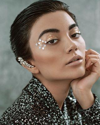 vougeitalia viviennaomiphoto sparkle kerenyivirag fashion milanofashion vougetalents budapestphotographer editorial