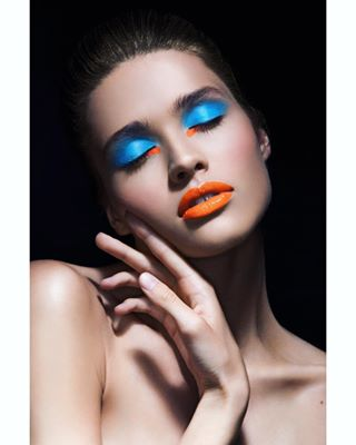 profoto photoshoot photography portrait look blue beauty stuudio7