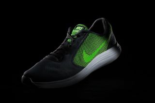 productphotography nike neongreen nikeshoes colorfulshoes studiophotography commercialphotography shoes footwear nikela productphoto