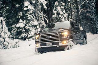 f150addicts truckinginthesnow advertisingphotoshoot truckphotos f150 automotivephotography photoshoot snowtruck fordf150