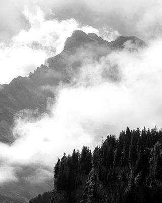 blackandwhite braunwald clouds ig_landscape ig_swiss vscocam