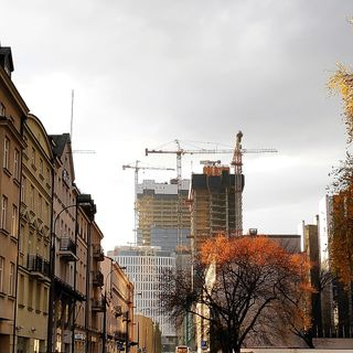 photography photooftheday buildings architecture trees sunlight cold winter greysky warsaw poland discovernewplaces traveller wander wanderlust