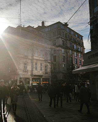 architecture istanbul istiklalcaddesi memories old pera photography photooftheday sky sunlight traveler urban wanderlust