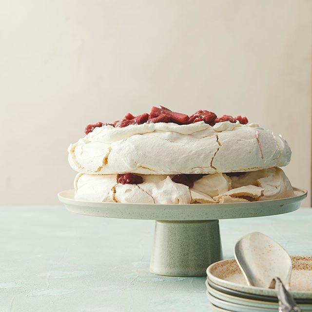 summer rhubarbrecipes rhubarb rhubarbcake cake