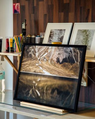 art craters frame gallery mexico photographer photography photopaper Printed vulcan xinantencatl