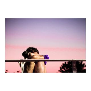 boys sunset figther fight love