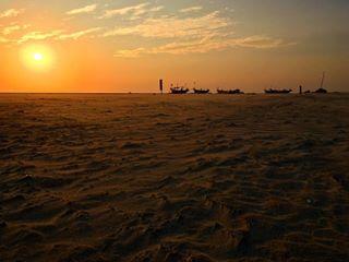 beach clouds fisherboat fisherman goa india kingfisher kitesurfing mandrem picoftheday sand summer sun sunset travel travelphotography vacation wind