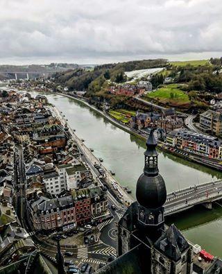 photooftheday citadel highest european hundredmeters travelpic viewfromabove dinant dinantbelgium amazingview belgiumart travelphotography iphone7 dinantourisme belgium belgie