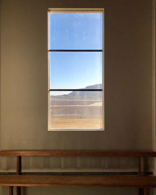 window niceview kirkja iceland church
