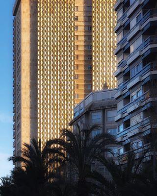 pattern buildingsilike alicante