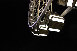 lights dark urban canon wheel night photography