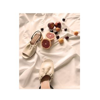 cute design fashion fruit leather photography shoes summer