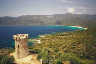 bluewater corse corsica defence drone genoise sea seascape seaside tower travel travelphotography visit visitcorse visitcorsica watercolor