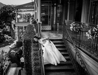 bn weddingday bride comolake blackandwhite scene movielover marriage weddingphoto glamourous weddingdress