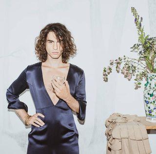 decolletage damurdress unisex sustainablefashion hommefatale paris fashioneditorial