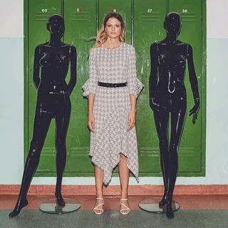 ethicfashion mywork tailored fashiongif polishgirl handmade dress miagiacca dance photography sustainablefashion kaskajankiewicz threegraces