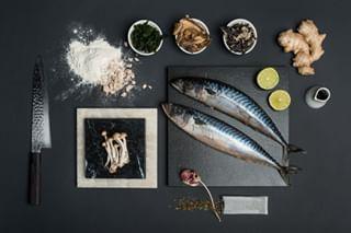 lime ingredients ginger fish isvisual milalapko kaskajankiewicz rawingredients myworks knife foodphotography chefstable karkutrestaurant mushrooms foodsession foodporn garlic restaurant