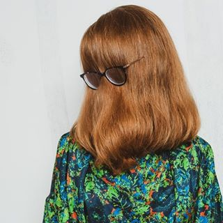 fashionpost photoshoot sustainablefashion designer hairymary brychcy staygreen anntian kaskajankiewicz benatural silkdress instafashion cousinitt gingerhead lookingdown