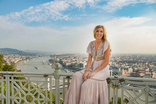 travelers portraitsession budapest citadella