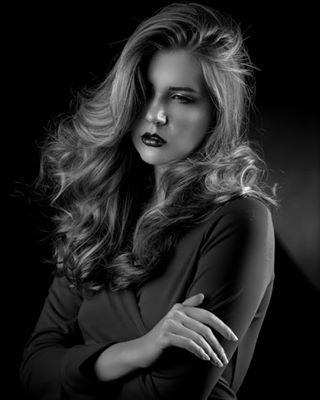 portraiture model blackandwhite