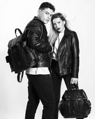 studio photoshooting jackets jacket leather models catalog bags mens meraki woman