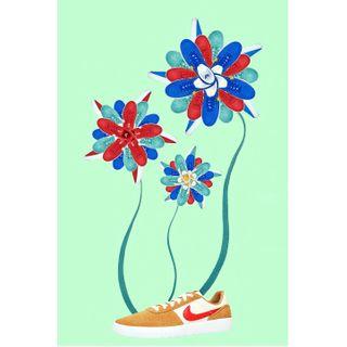 nikesb erliebtmicherliebtmichnicht flower mandala sneakers shoes stilllifephotography stilllife productphotography newwonders newlust newpassion newproject newwork
