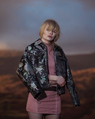 femalemodel editorial fashion beautiful manchester location lakedistrict storytelling cold winter tb sunset